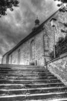 Kirchenstiege Großrußbach