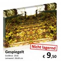 Kellergassen Leinwand 20x30 08