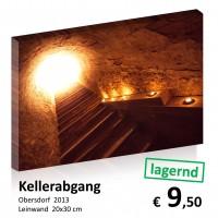 Kellergassen Leinwand 20x30 15