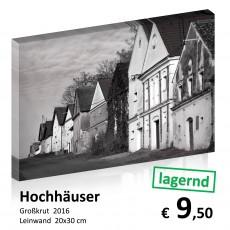 Monochrom Leinwand 20x30 07