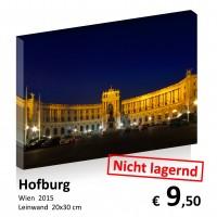 Wien bei Nacht Leinwand 20x30 04