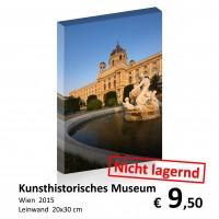 Wien bei Nacht Leinwand 20x30 06