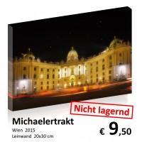 Wien bei Nacht Leinwand 20x30 12
