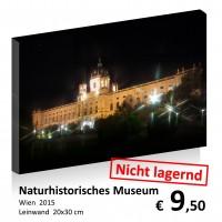 Wien bei Nacht Leinwand 20x30 14
