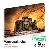 Wien bei Nacht Leinwand 20x30 25