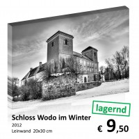 Monochrom Leinwand 20x30 107
