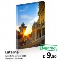 Wien Leinwand 20x30 103